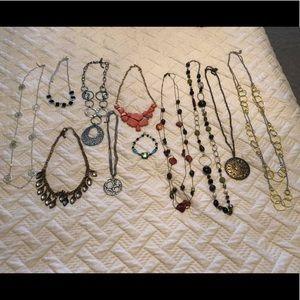 Necklaces and bracelet